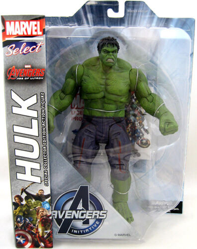 AVENGERS 2 HULK Marvel Select figurine Age of Ultron-Vendeur Britannique