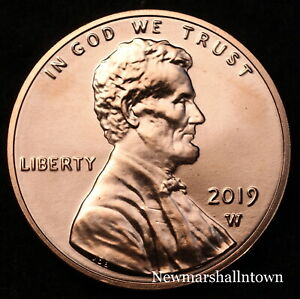 Mint Coins from a Bank Roll 2018 2019 P+D Lincoln Shield Set ~ Uncirculated U.S