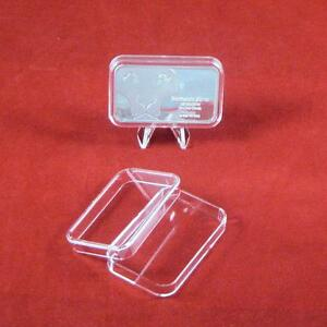 250 Air-tite 1oz Silver Bar Holder Direct Fit Capsule Acrylic Case Airtite USA