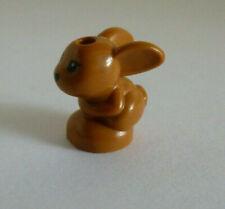 2 Lego® Friends Zubehör 6x Tiere  Hase,Vogel,Schildkröte und Hamster Neu