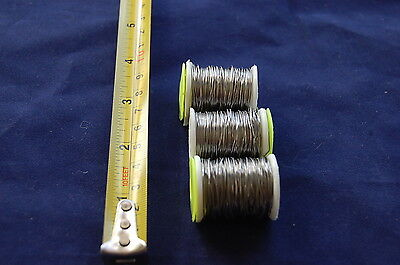 FLY TYING 3x Large Spool Lead Wire 0,56mmthick FLY FISHING Fly Dressing