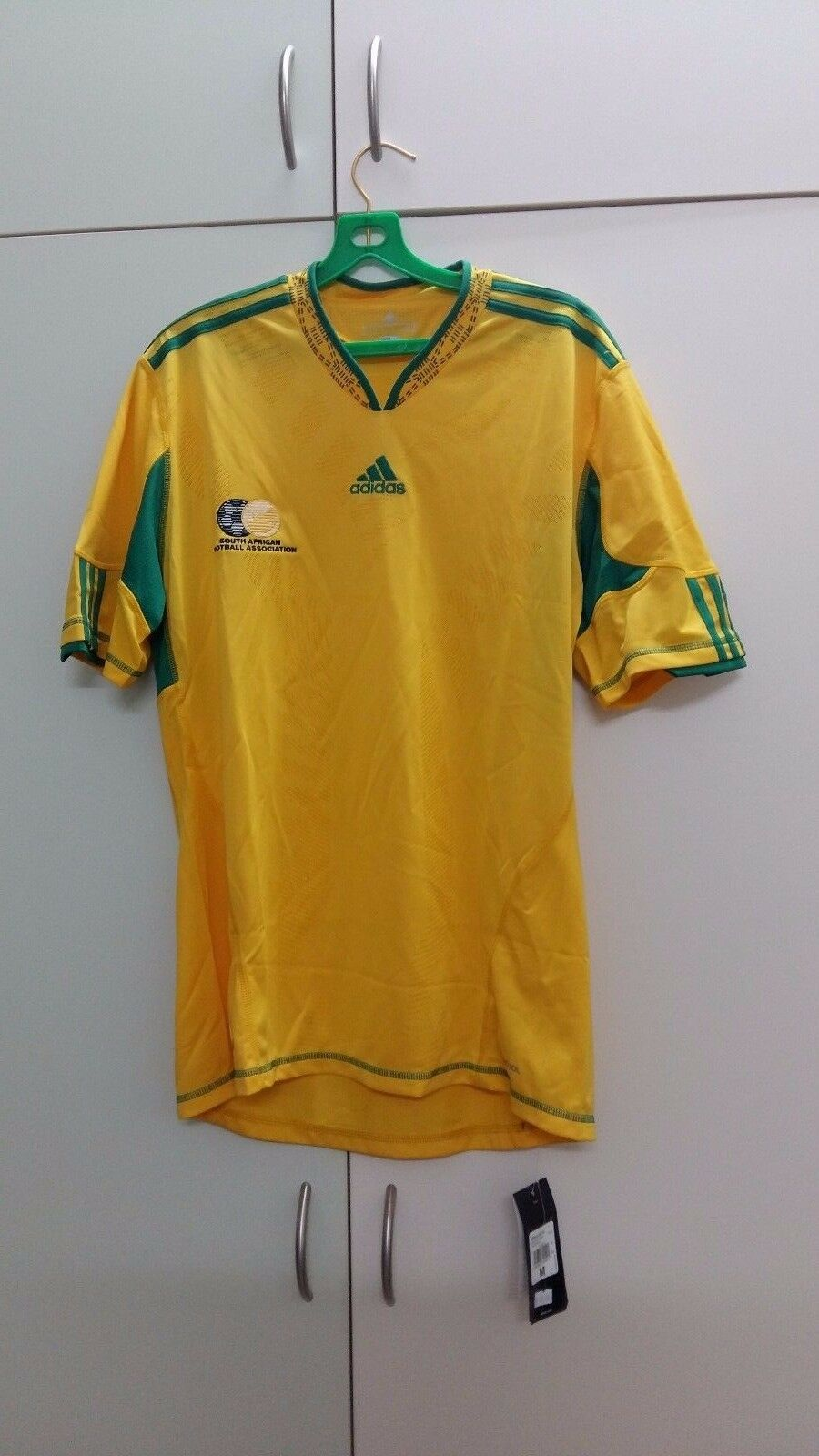 South Africa National Football Team Home Jersey 09 11, BNWT, Size  M