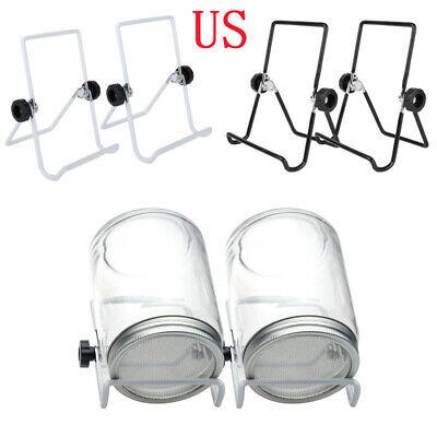 2Pcs Steel Seed Sprouter Sprouting Kit for Mason Jars Stands Foldable Scaffolds