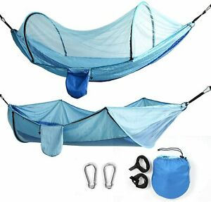 Camping Hammock with Mosquito Net Tent Hanging Bed Swing Chair Outdoor