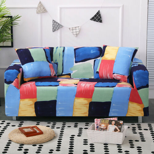 Stretch Slipcovers Elastic Stretch Sofa Cover Living Room Couch Armchair Cover