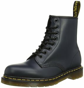 Men s Dr Martens 1460 8 Eye LaceUp Boot Navy Blue Smooth 11822411   eBay 3ab9771d6f83