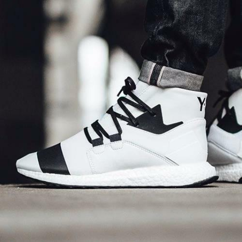 Adidas Y-3 Kozoko High size 9. White Black. BY2634. ultra boost. nmd.