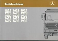 LKW   MERCEDES  620   NG   Betriebsanleitung  1987   Bordbuch   Handbuch    BA