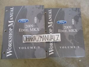 2009 FORD Edge Lincoln MKX Service Manuals Manual OEM | eBay