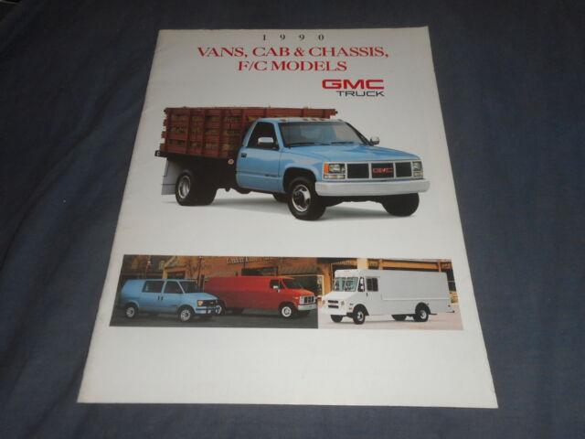 1998 GMC Envoy SUV Color Brochure Catalog Prospekt
