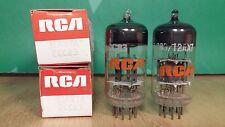 Pair of RCA (RFT) 12AX7A ECC83 NOS NIB Vacuum Tubes