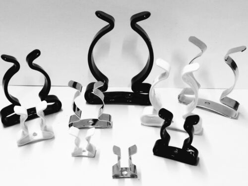 TOOL CLIPS Closed Type  6mm to 25mm MULTI LISTING 5 or 10 PACK CoatedClipCoUK