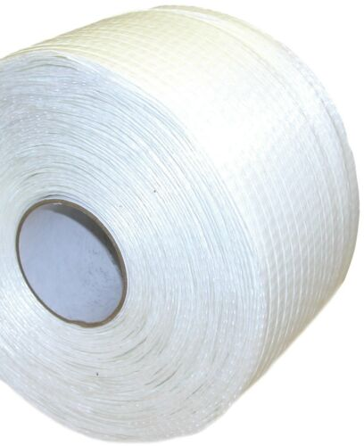 "34"" x 2,100 ft. 0.75 in. Width Woven Cord Strapping Dr. Shrink DS750"