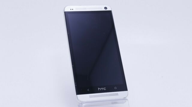 FAIR USED AT&T HTC ONE M7 PN07120 32GB WHITE QUICK SHIP CLEAN IMEI
