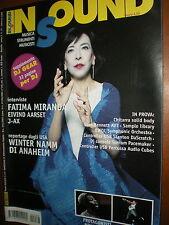 InSound.Fatima Miranda,dj Spooky,dj Fede,Jovanotti,iii