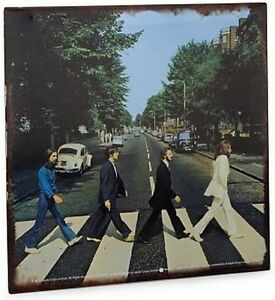 BEATLES-Abbey-Road-Album-Cover-12X12-METAL-SIGN-LP-John-PAUL-Ringo-HARRISON
