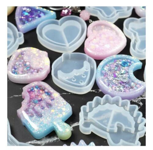 Brand New Hedgehog Animal Silicon Shaker Mold For Uv And Epoxy Resin Crafts