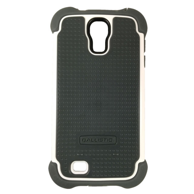 new products f6f13 b19b1 Ballistic SG Case Cover for Samsung Galaxy S4 S IV Gs4 White W/screen  Protector