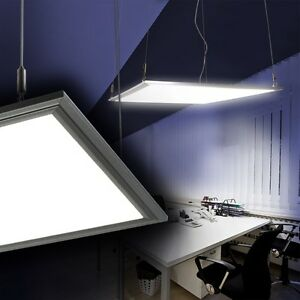 led panel b rolampe b roleuchte rasterleuchte h ngeleuchte 40 watt tageslicht ebay. Black Bedroom Furniture Sets. Home Design Ideas