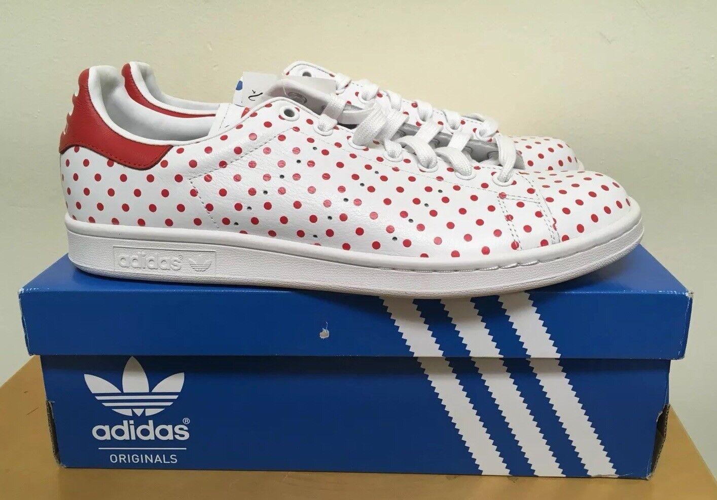 Adidas pw stan smith spd: red / bluebird pois 10,5 scarpe nuove dimensioni 10,5 pois Uomo 793190