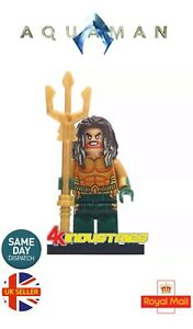 Aquaman-King-Arthur-Poseidon-Trident-DC-Mini-Figure-Hero-DC-UK-Seller
