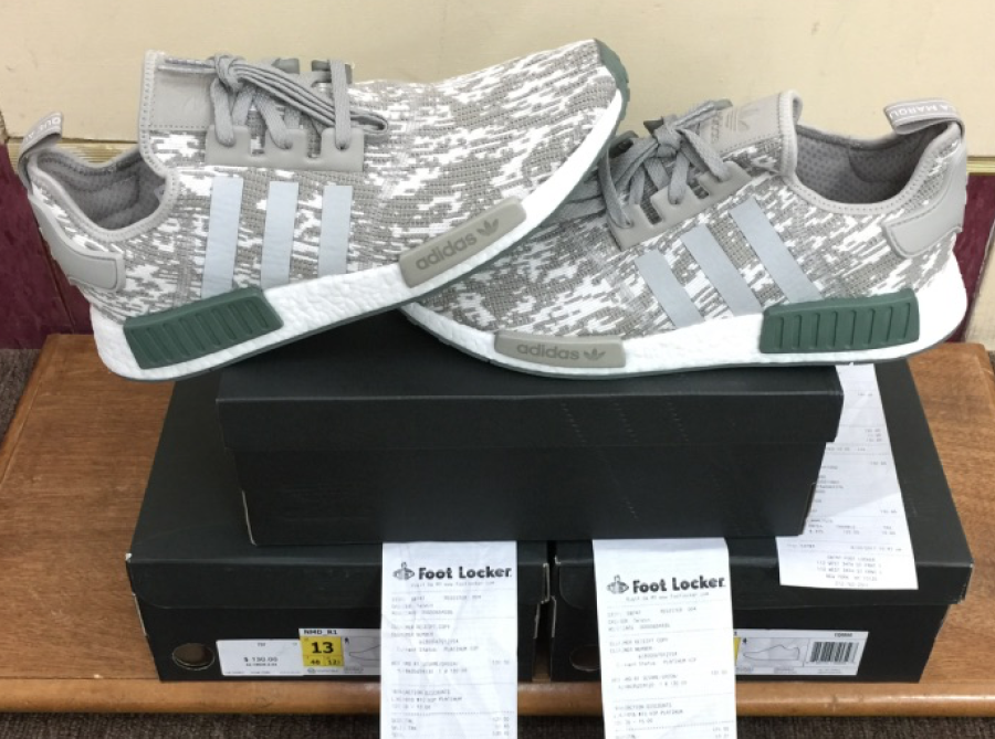 Adidas NMD_R1 NomadRunner Boost Footlocker Exclusive Camo Beige CQ0860 CQ0860 CQ0860 AUTHENTIC 913ce6
