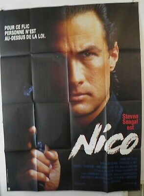 Above the Law NICO1988 Steven Seagal Sharon Stone Large ...