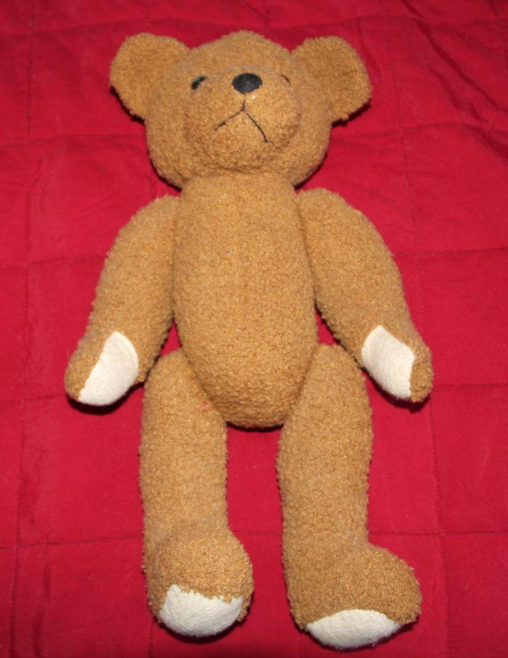 Magnifique ancien Ours de collection Teddy Bear circa 1970 02