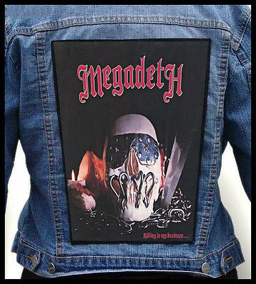 MEGADETH - Killing Is My Business...    --- Back Jacket Patch backpatch