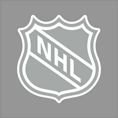 National Hockey League #2 NHL Logo 1Color Vinyl Decal Sticker Car Window Wall