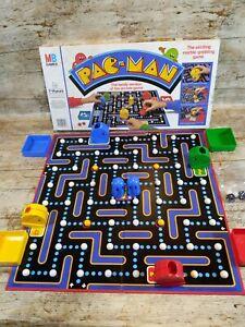 MB-Milton-Bradley-vintage-1980-Namco-Pac-Man-Retro-Board-Game-Vintage-PACMAN