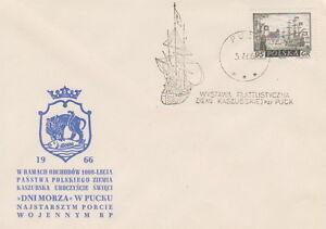 Poland postmark PUCK - philatelic exhibition sailing boat - Bystra Slaska, Polska - Poland postmark PUCK - philatelic exhibition sailing boat - Bystra Slaska, Polska