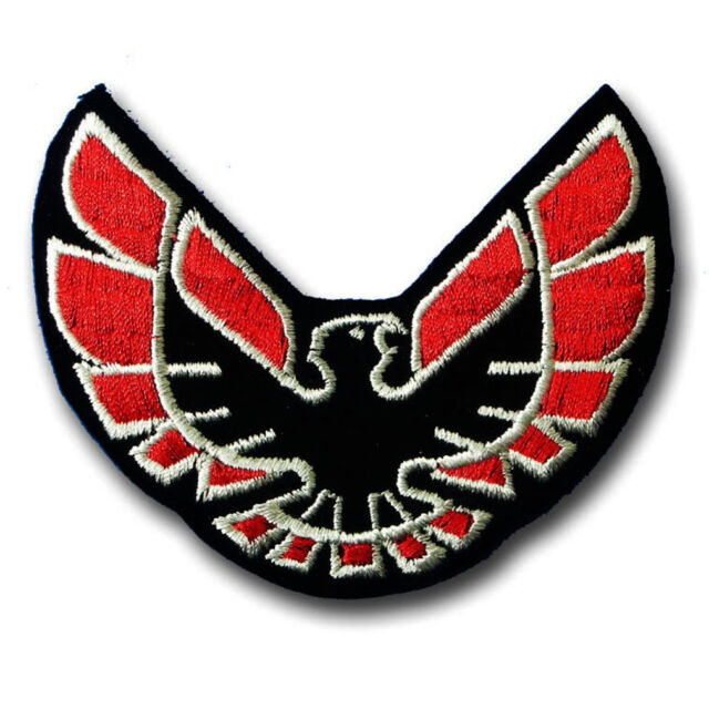 Firebird Patch Embroidered Iron On Badge Emblem Applique Pontiac