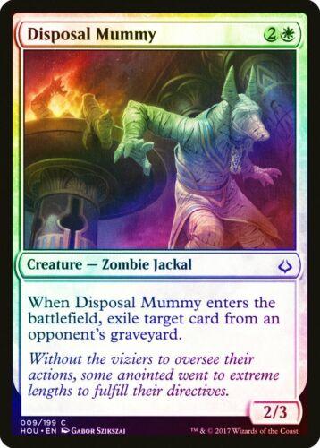 Disposal Mummy FOIL Hour of Devastation NM-M White Common MAGIC CARD ABUGames
