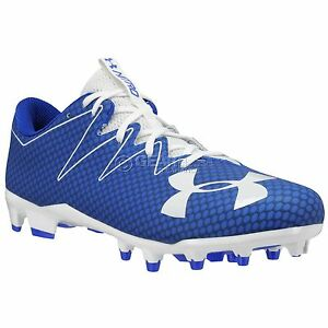 f6ed0345d New Under Armour UA Nitro MC Mens Low Football Cleats   Royal Blue ...