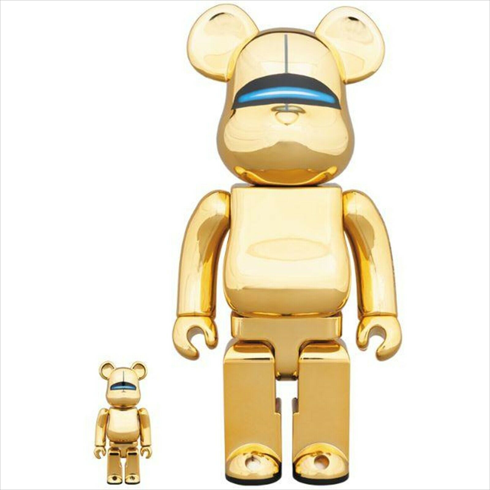 BE@RBRICK 400% & 100% Sorarama gold gold Medicom Toy Figure
