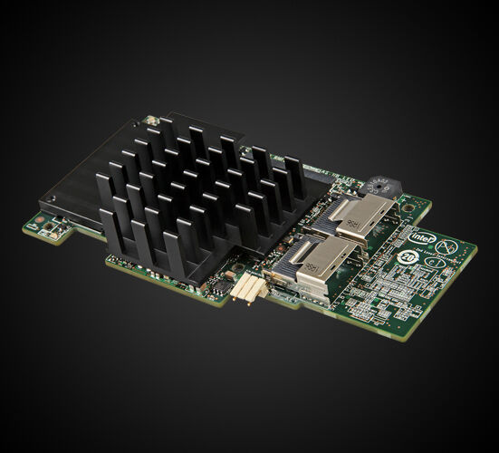 Intel Integrated RAID Module rms25cb080 | Original Packaging Retail | SATA + SAS RAID Controller