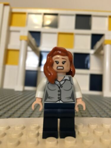 LEGO DC Super Heroes Man Of Steel Lois Lane Minifigure 76009 Loose A8