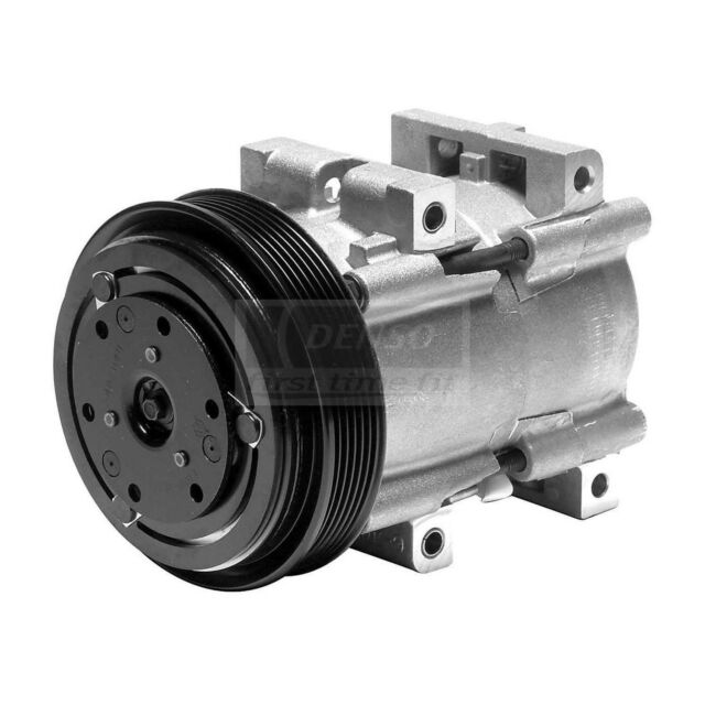 Denso 471-8130 New Compressor with Clutch
