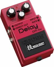 New BOSS DM-2W Delay Guitar Effects Pedal WAZA CRAFT From Japan