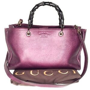 Gucci-Leather-Large-Bamboo-Shopper-Tote