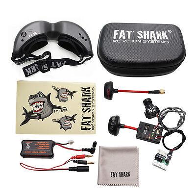 FatShark Teleporter V5 5.8G FPV Goggle w/Camera, Plug and Play FSV1088 Fat shark