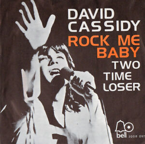 DAVID-CASSIDY-ROCK-ME-BABY-Bell-Records-Near-Mint