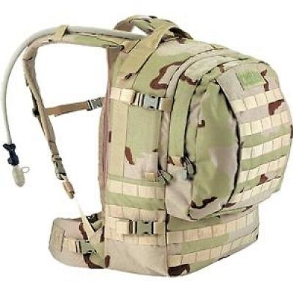 US Army DCU CamelBak MOTHERLODE ARMY 3 Farbe Desert Hydration Rucksack pack