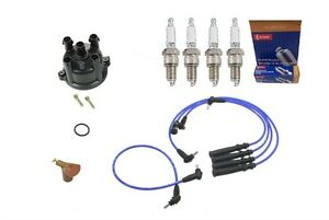 Toyota Truck    4Runner    24L 22RE TuneUp Kit WiresCapRotor   Spark    Plugs   eBay