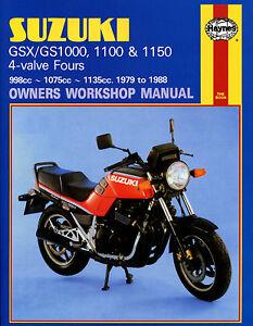 Haynes-Manual-0737-for-Suzuki-GSX1000-GSX1100ES-GSX1100EFE-GSX1100S-Katana