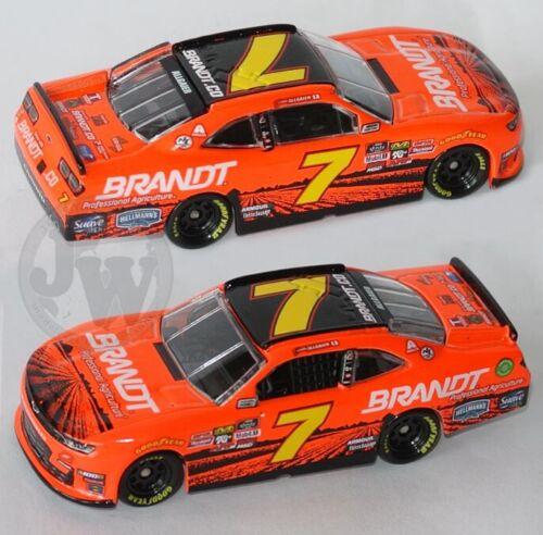 #7 JRM CAMARO NASCAR XFINITY 2019 1:64 Justin Allgaier BRANDT