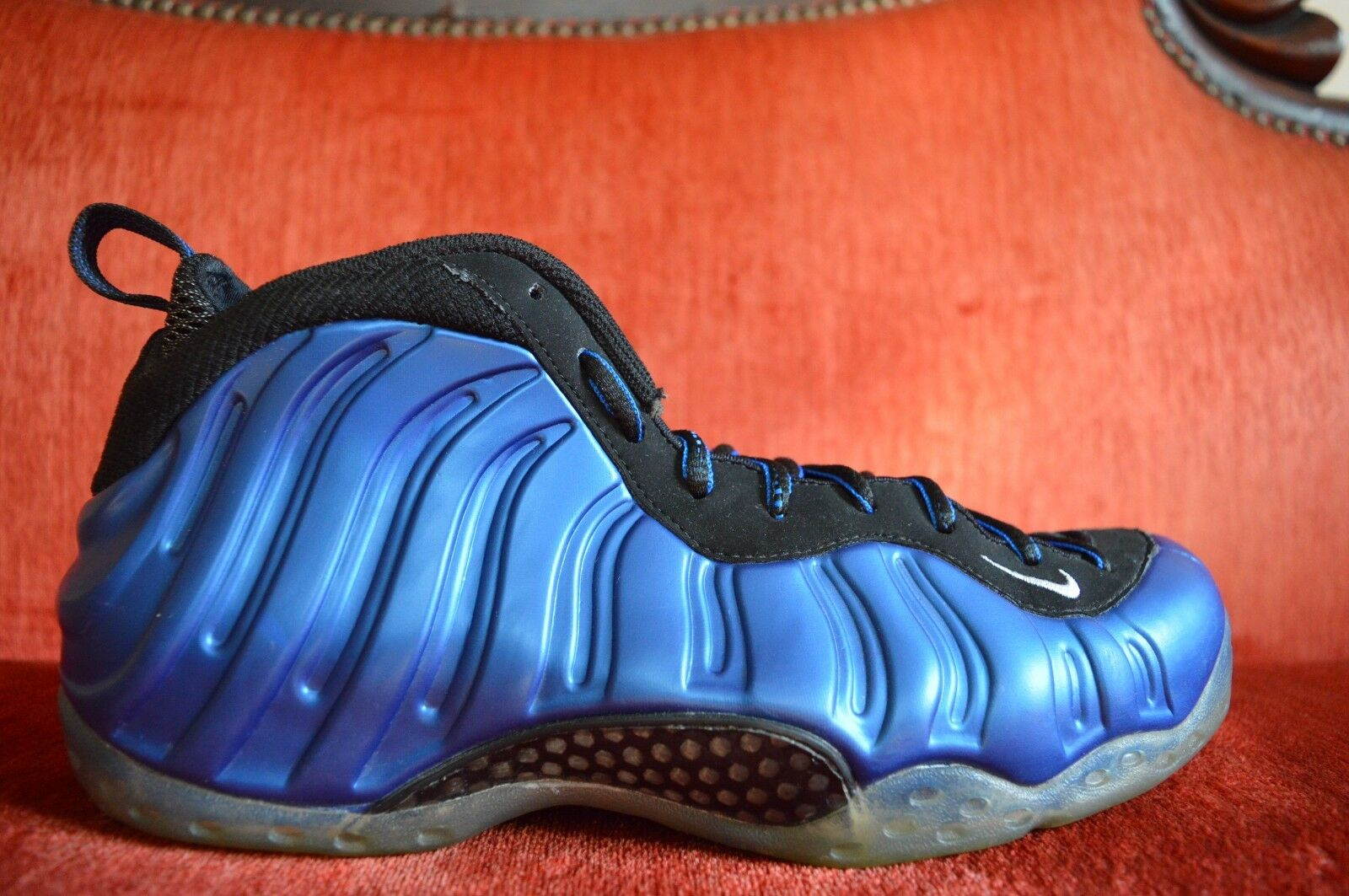 MENS NIKE AIR Max FOAMPOSITE ONE NEON ROYAL Size 9 314996 500 2010 OG