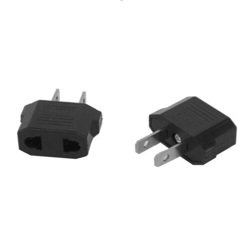 2-prong Australia EU To US Plug Power Adapter Travel Adaptors