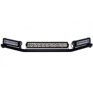 Rigid industries 40132 roof rack mount two 10one 20 led light bar rigid industries 40132 roof rack mount two 10 aloadofball Images